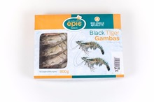 Black tiger gamba's