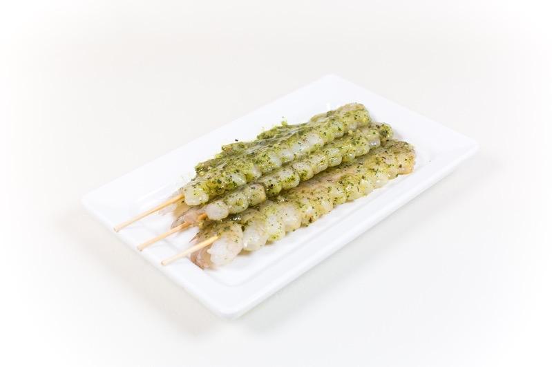 Garnalenspies   Met Italiaanse marinade